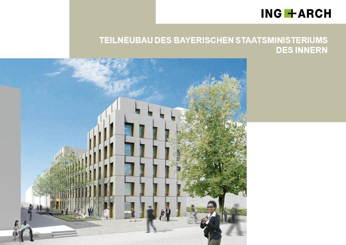 Teilneubau des Bayerischen Staatsministeriums des Innern