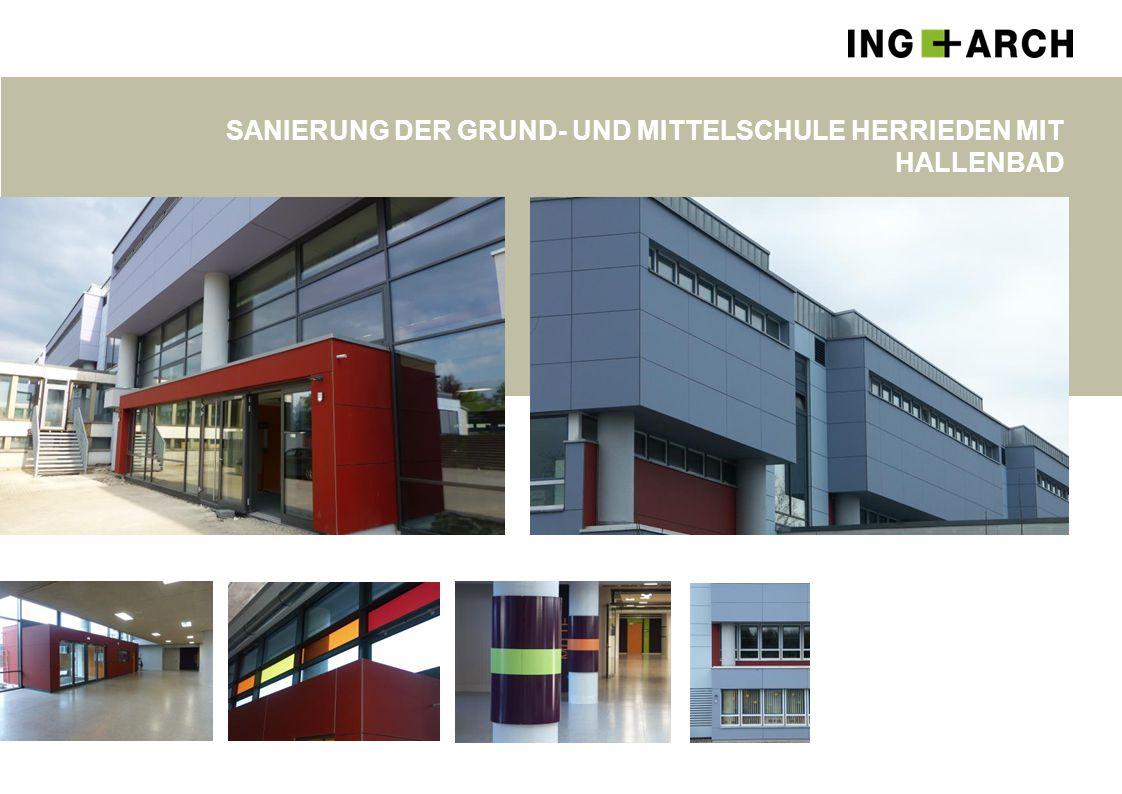 Sanierung der Grund- und Mittelschule Herrieden Mit Hallenbad