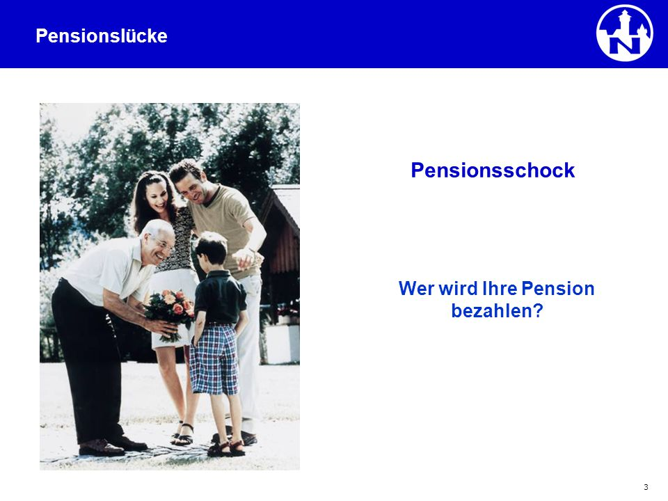 Wer wird Ihre Pension bezahlen
