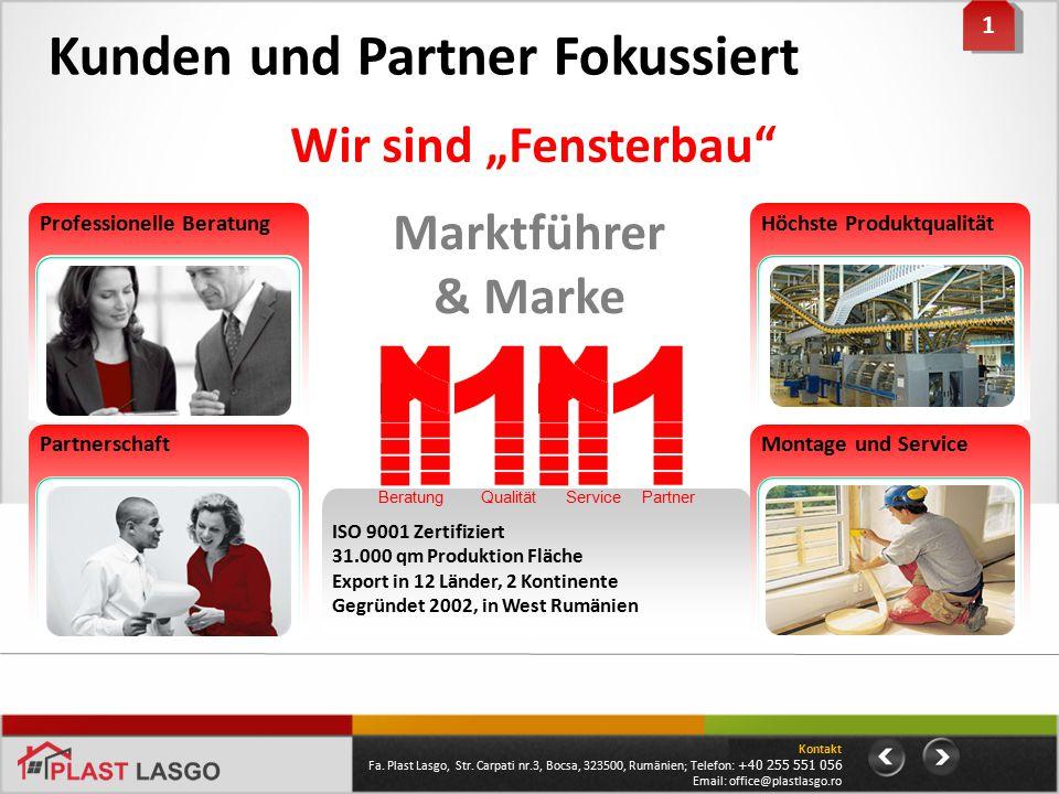 Kunden und Partner Fokussiert