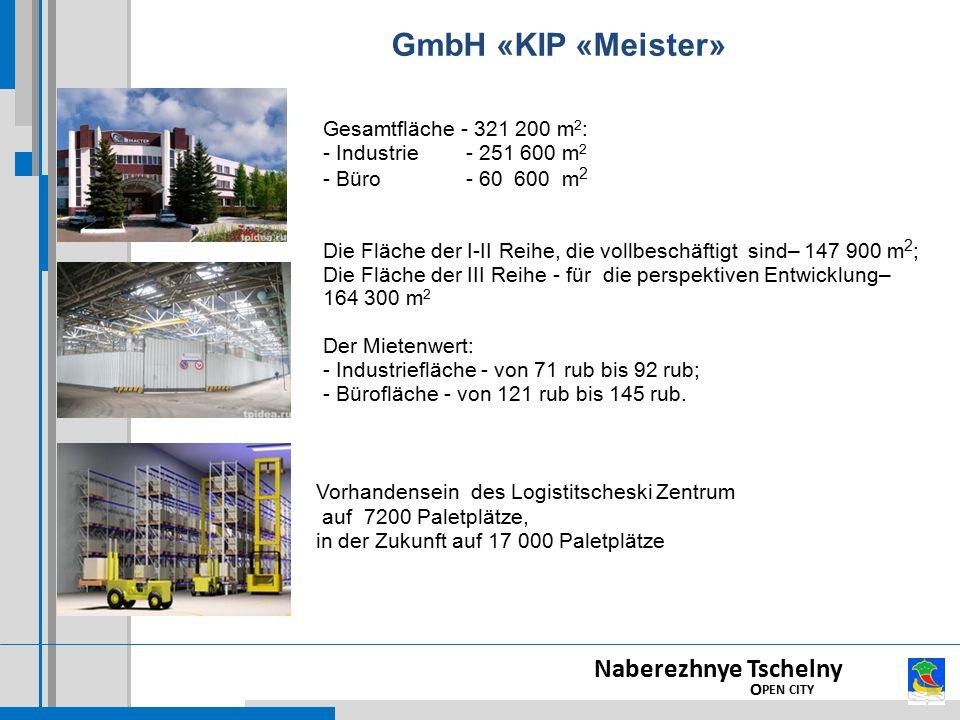 GmbH «KIP «Meister» Naberezhnye Tschelny OPEN CITY