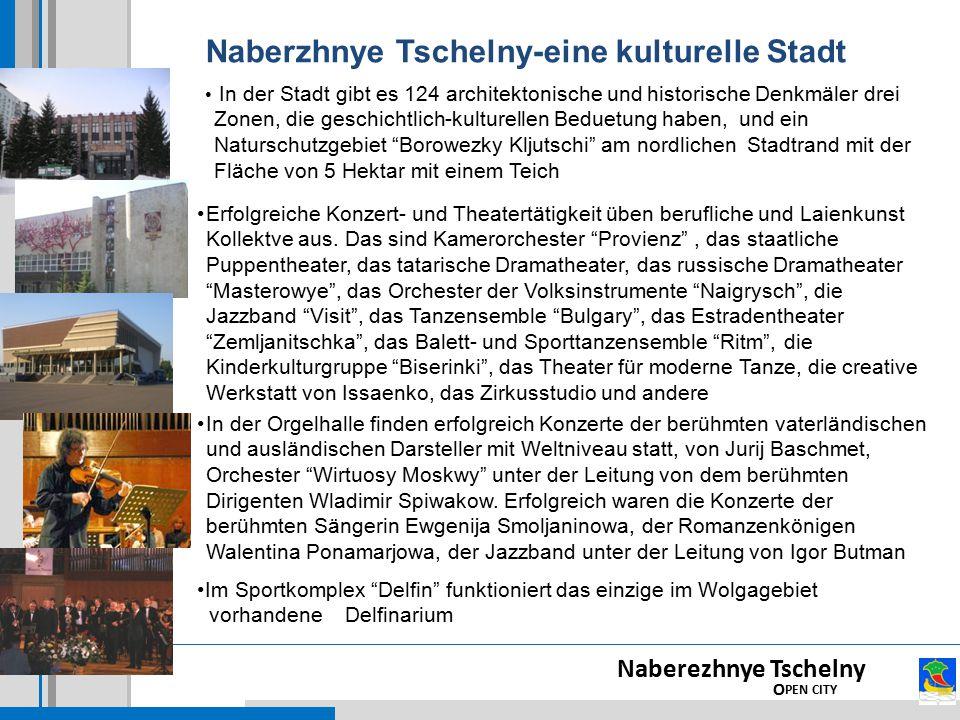 Naberzhnye Tschelny-eine kulturelle Stadt