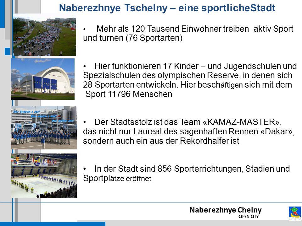 Naberezhnye Tschelny – eine sportlicheStadt