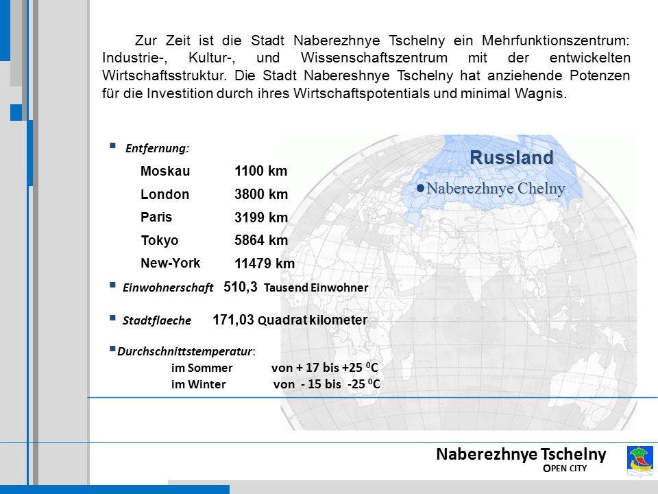 Russland Naberezhnye Tschelny OPEN CITY Naberezhnye Chelny
