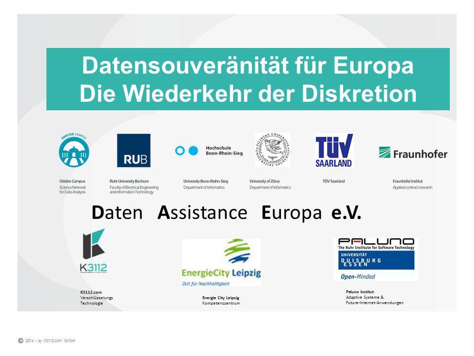 Datensouveränität für Europa Die Wiederkehr der Diskretion