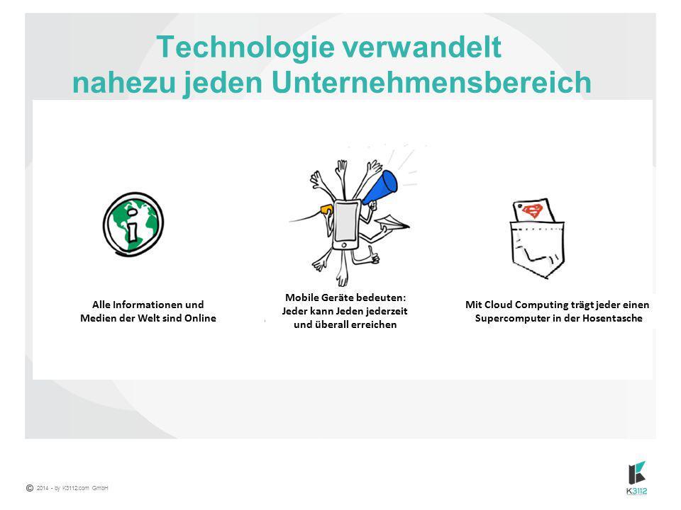 Technologie verwandelt nahezu jeden Unternehmensbereich