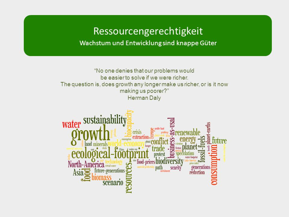 Ressourcengerechtigkeit