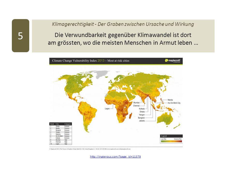 Klimagerechtigkeit - Der Graben zwischen Ursache und Wirkung