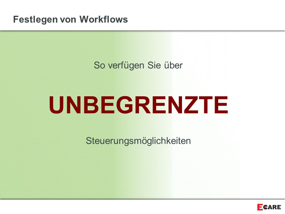 Festlegen von Workflows
