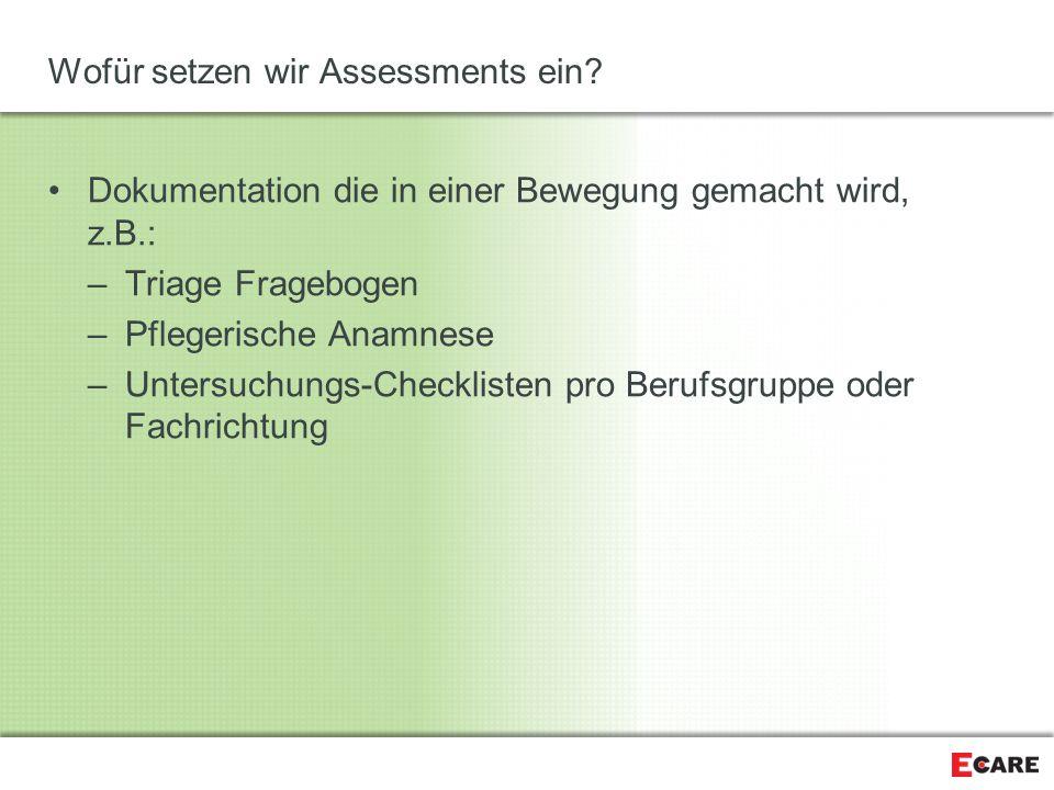 Wofür setzen wir Assessments ein