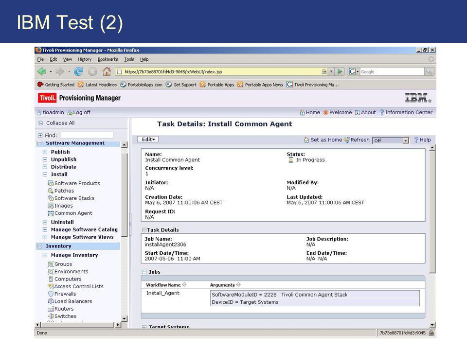 IBM Test (2)