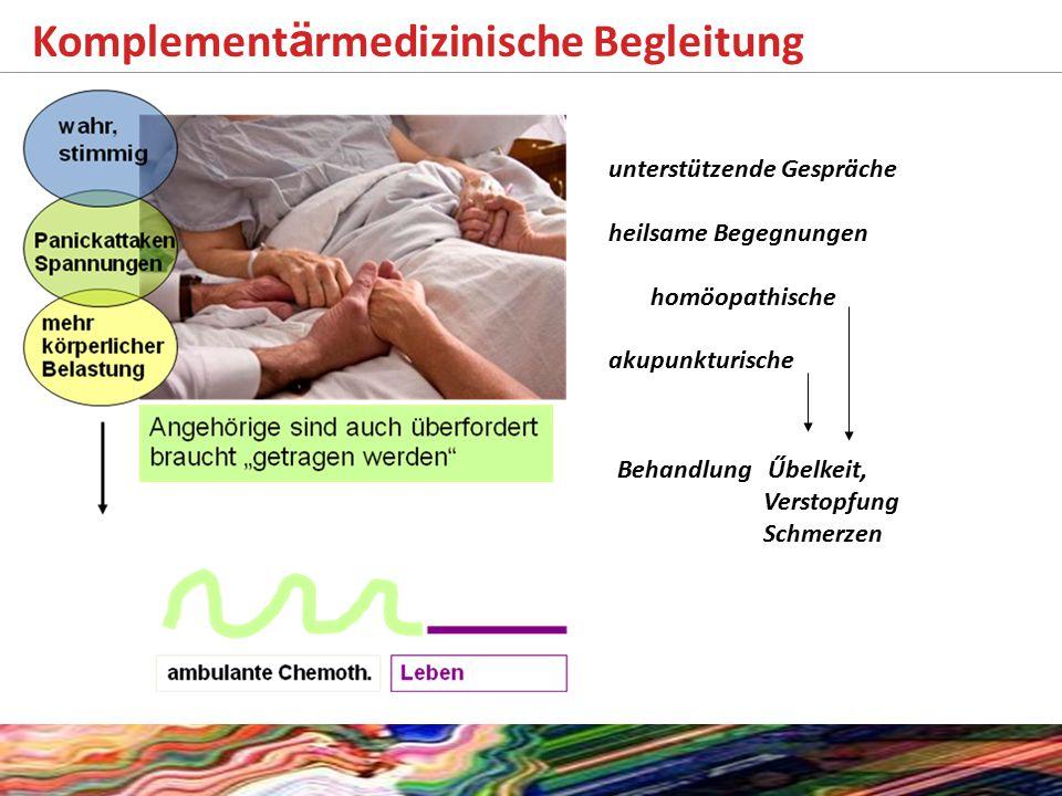Komplementärmedizinische Begleitung