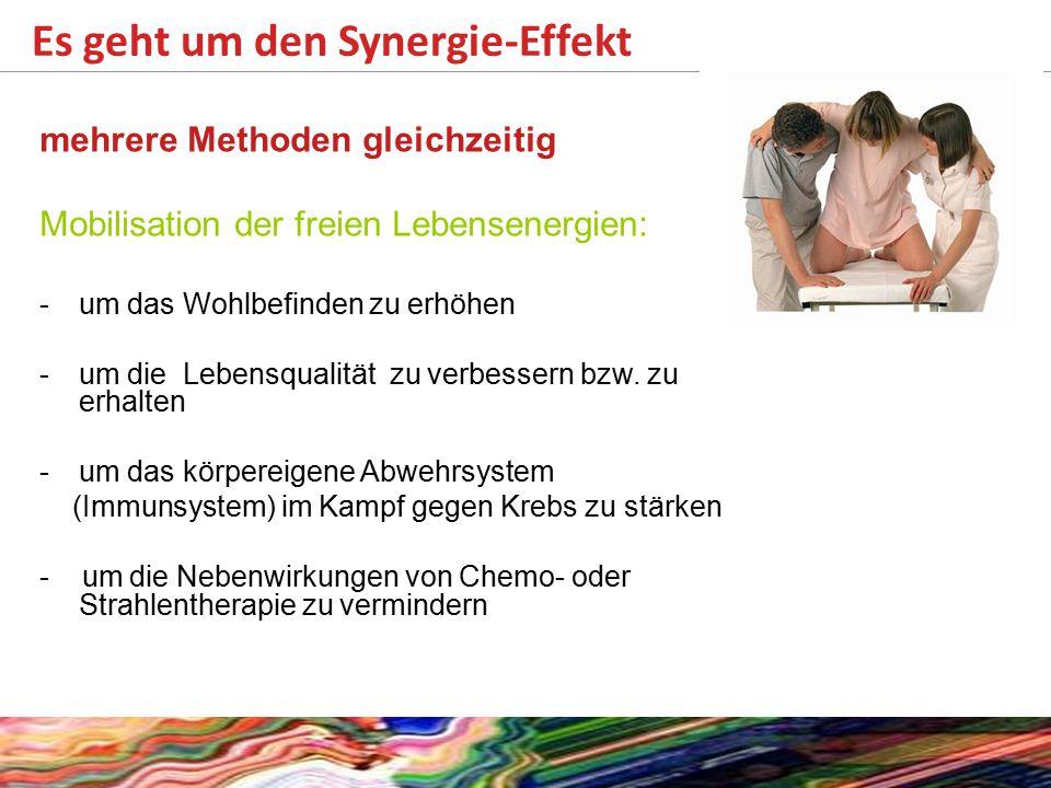 Es geht um den Synergie-Effekt