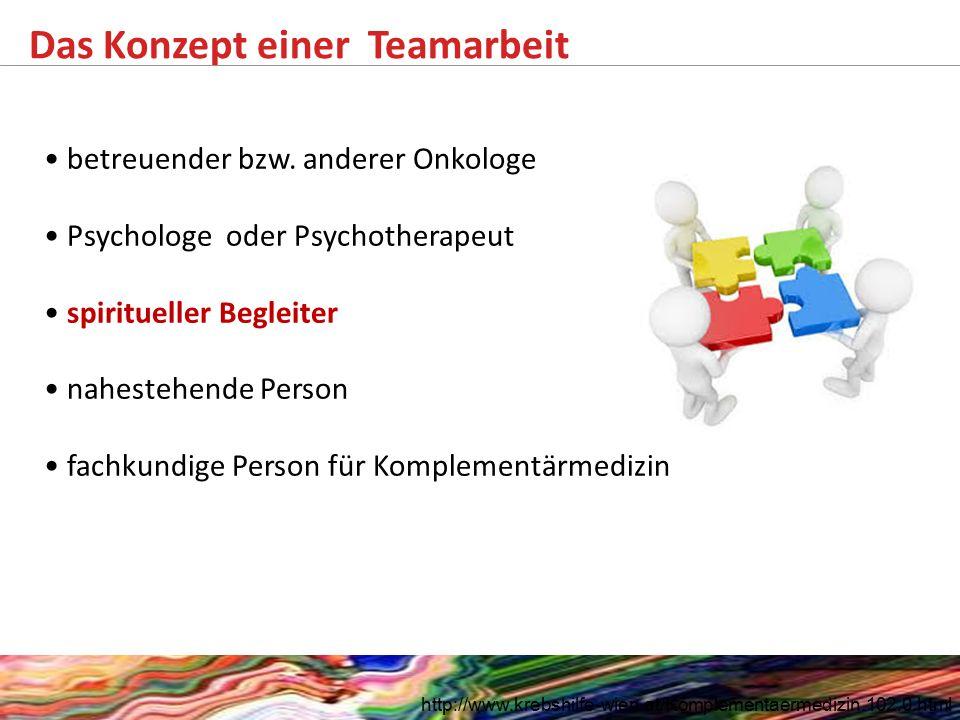 Das Konzept einer Teamarbeit