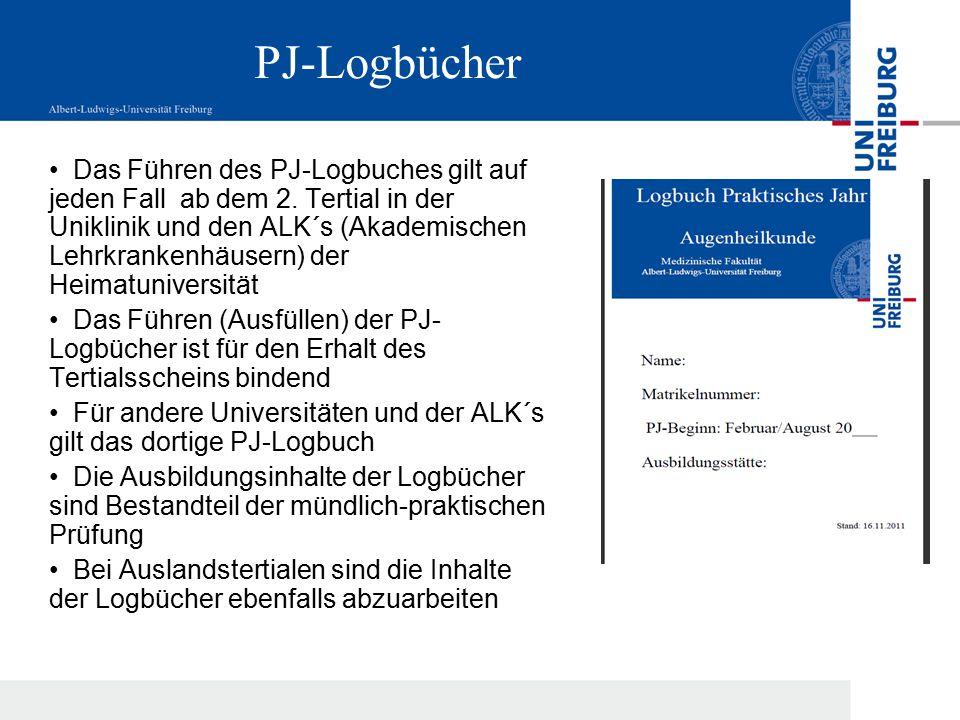 PJ-Logbücher