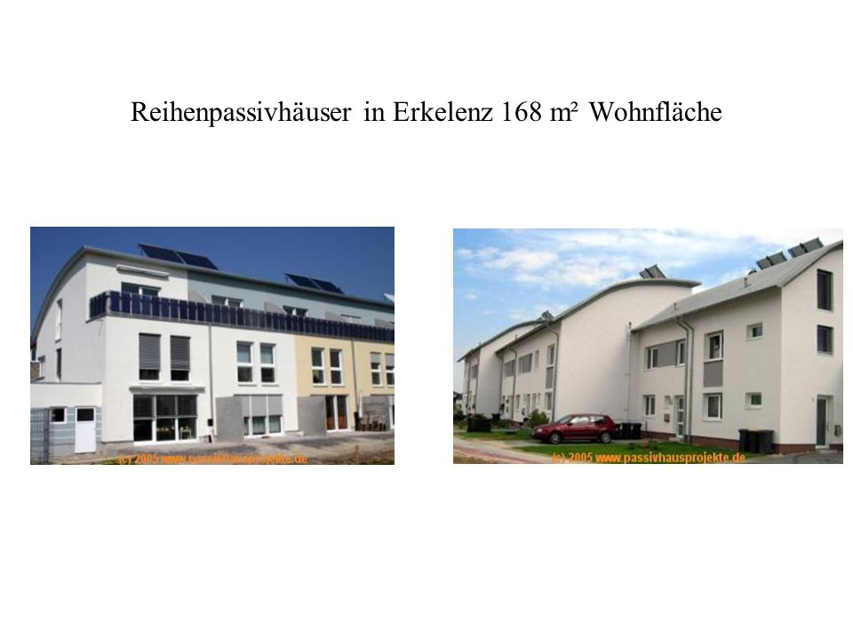 Reihenpassivhäuser in Erkelenz 168 m² Wohnfläche