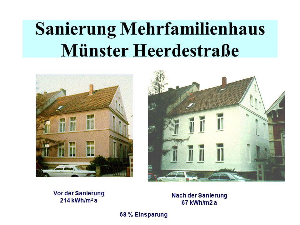 Sanierung Mehrfamilienhaus Münster Heerdestraße