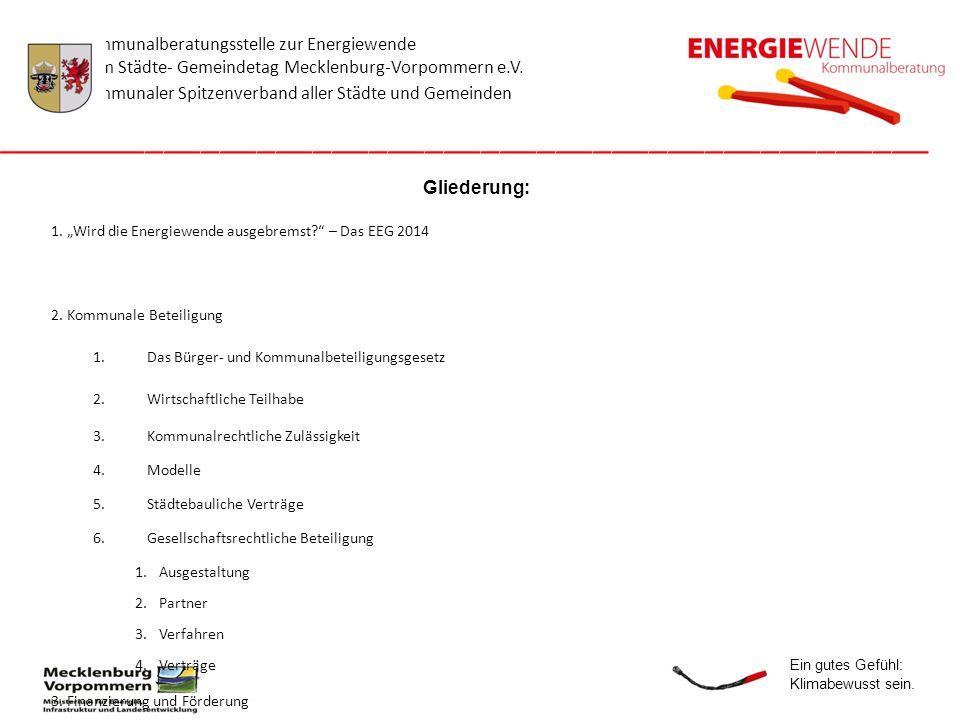 Die Kommunalberatungsstelle wird durch das Land Mecklenburg-Vorpommern gefördert.