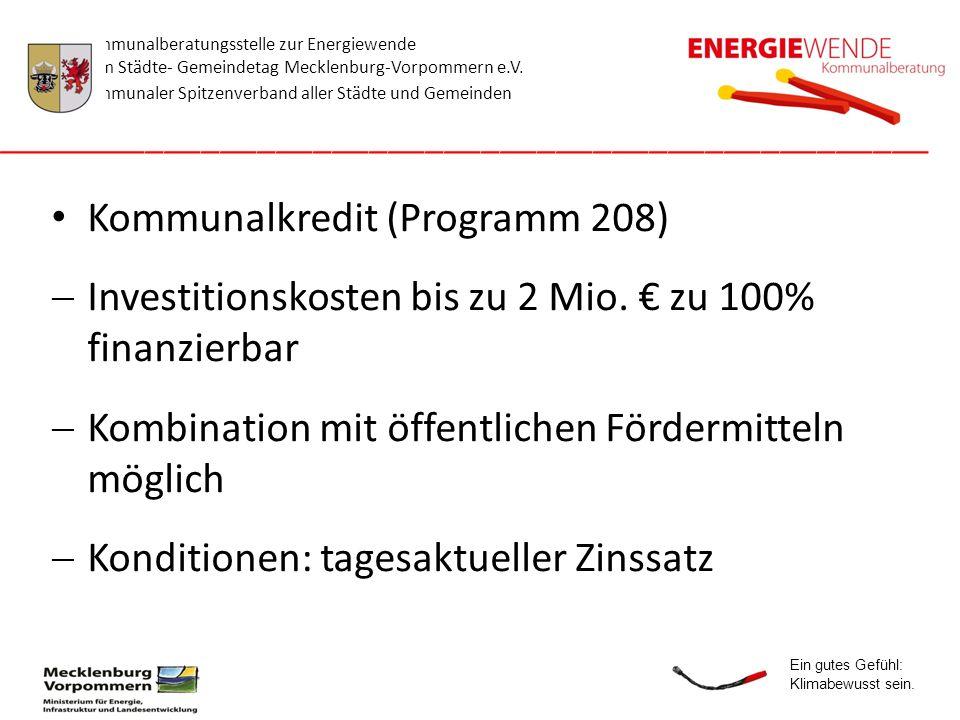 Kommunalkredit (Programm 208)