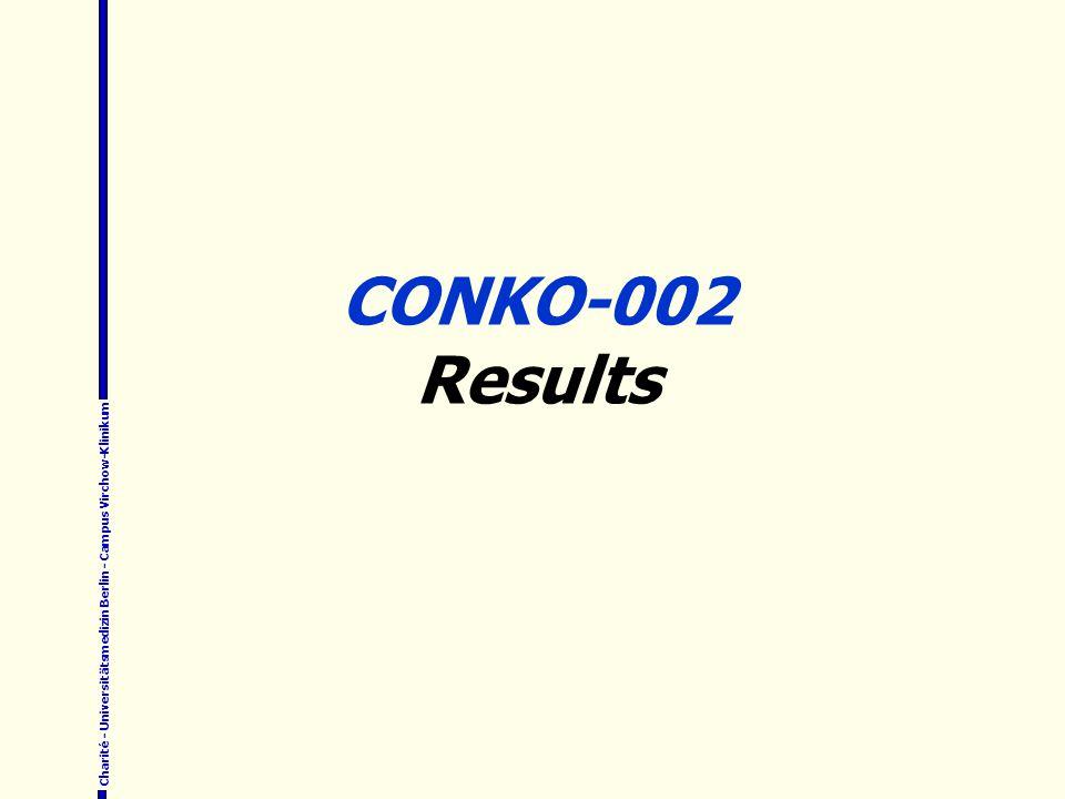 CONKO-002 Results