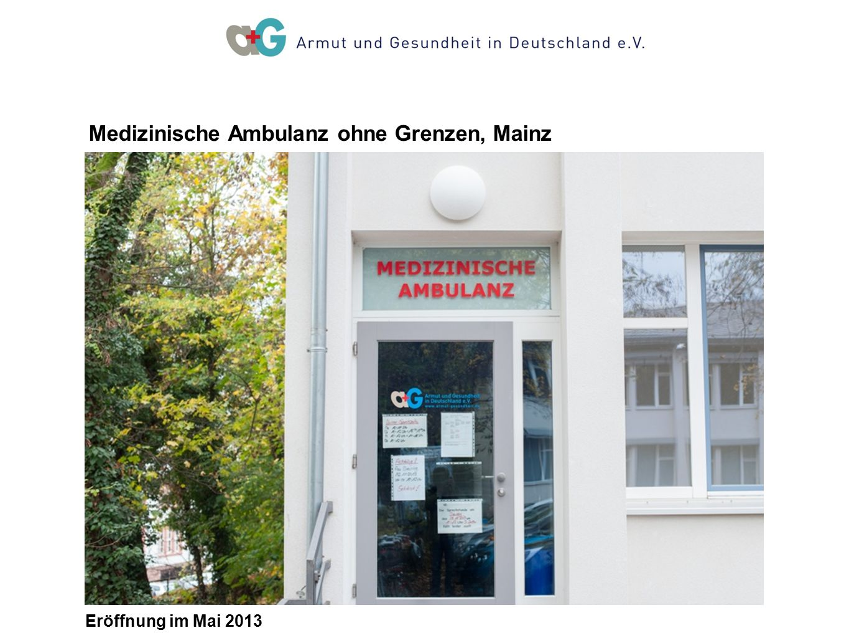 Medizinische Ambulanz ohne Grenzen, Mainz