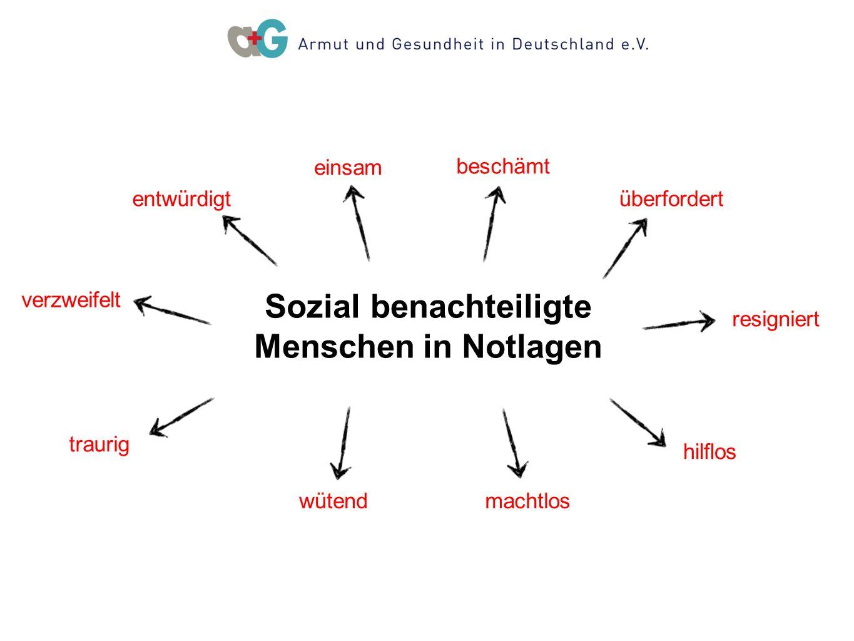 Sozial benachteiligte