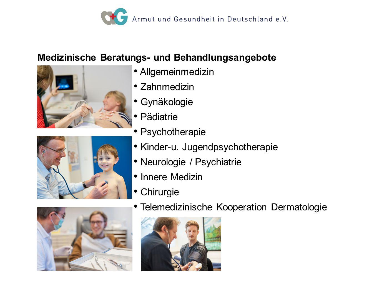 Medizinische Beratungs- und Behandlungsangebote