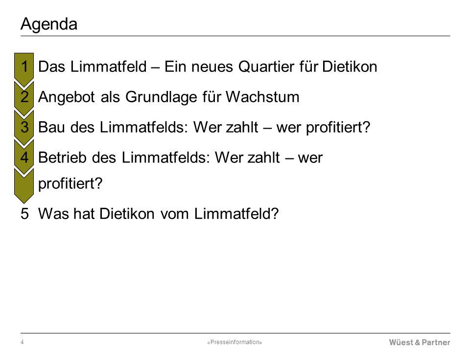 Agenda Das Limmatfeld – Ein neues Quartier für Dietikon