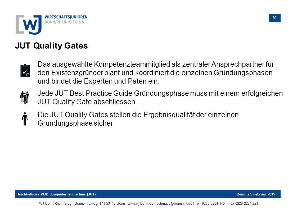 JUT Quality Gates