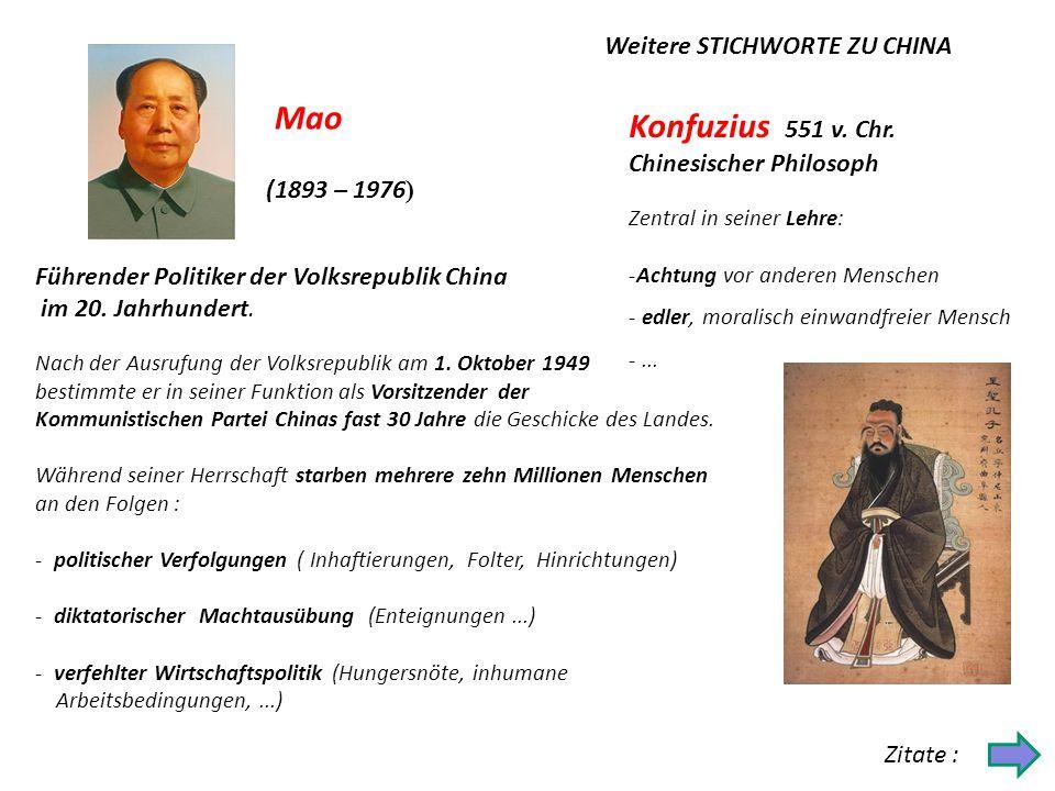 Konfuzius 551 v. Chr. Chinesischer Philosoph