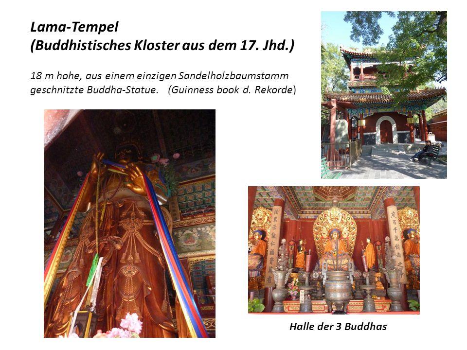 (Buddhistisches Kloster aus dem 17. Jhd.)