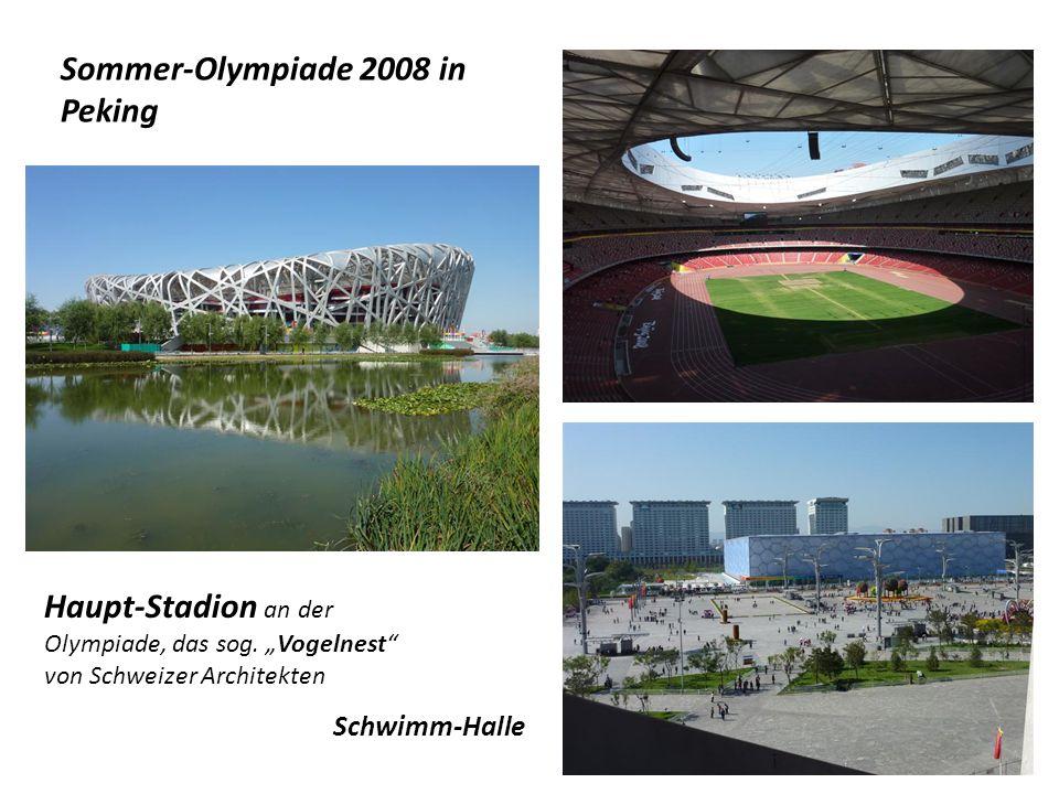 Sommer-Olympiade 2008 in Peking