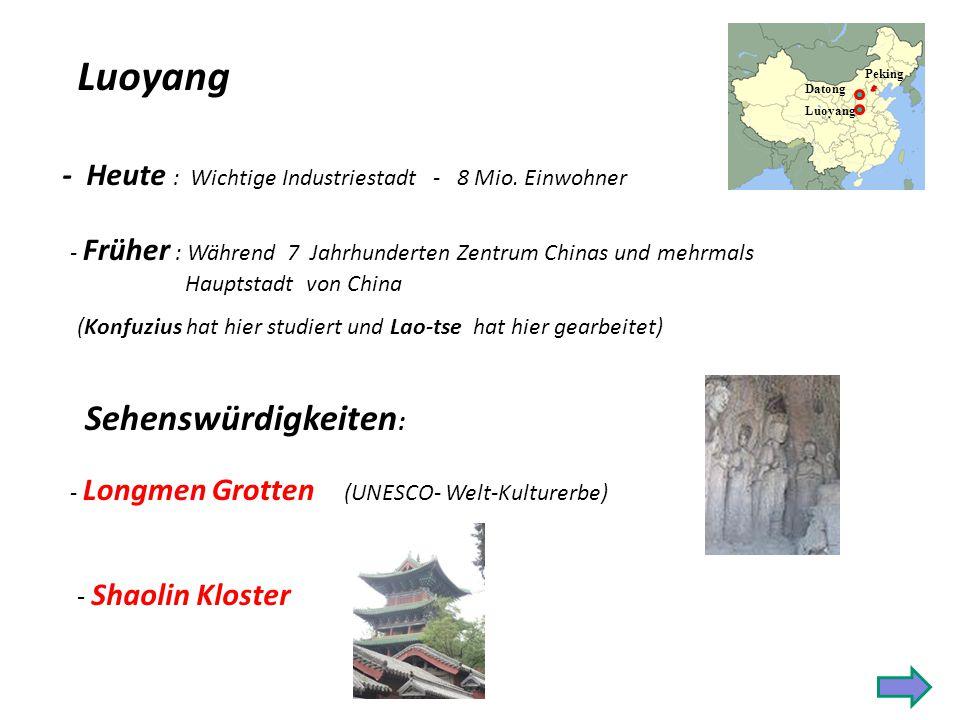 Luoyang Sehenswürdigkeiten: