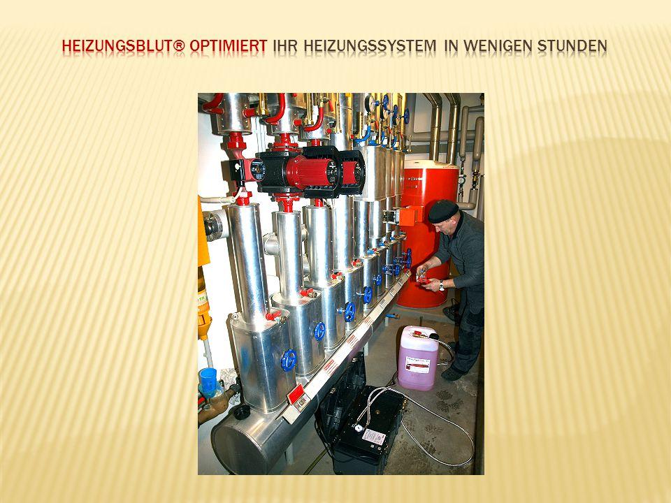 Heizungsblut® Optimiert Ihr Heizungssystem in wenigen Stunden