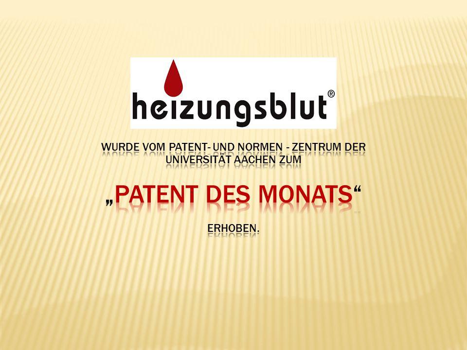 """""""Patent des Monats Wurde VOM Patent- und Normen - zentrum Der"""