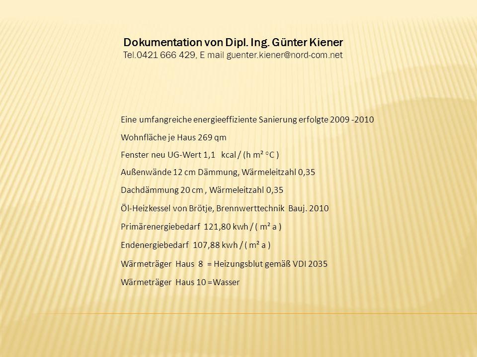 Dokumentation von Dipl. Ing. Günter Kiener Tel