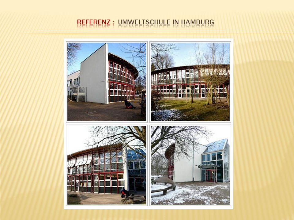 Referenz : Umweltschule in Hamburg