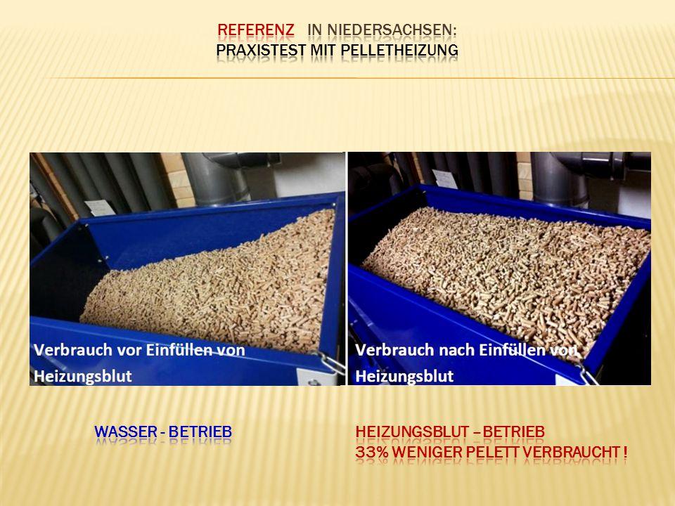 ReferEnz in Niedersachsen: Praxistest mit Pelletheizung