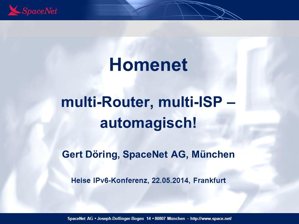 Homenet multi-Router, multi-ISP – automagisch
