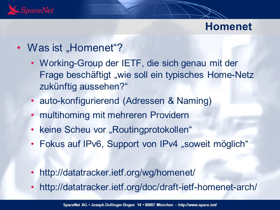 "Homenet Was ist ""Homenet"