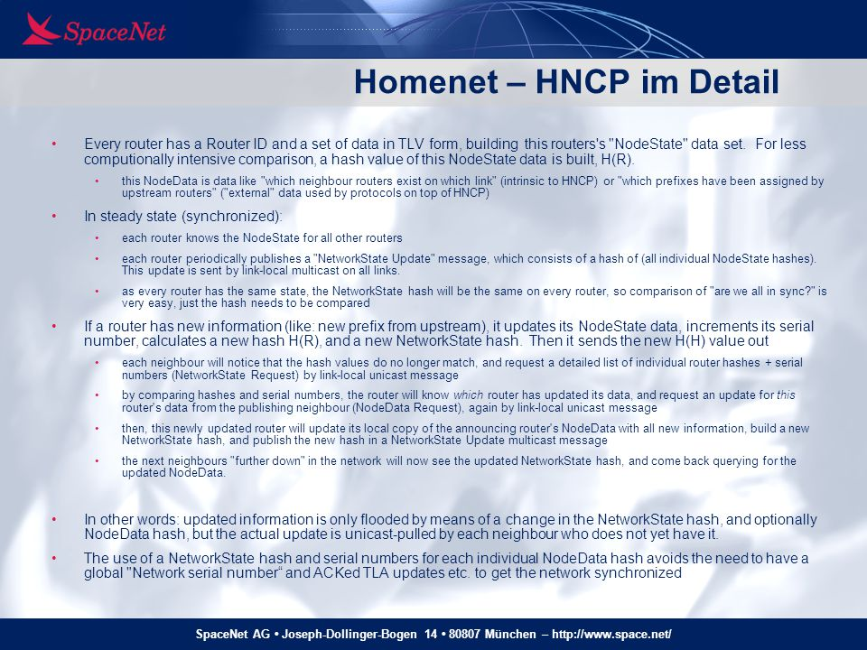 Homenet – HNCP im Detail