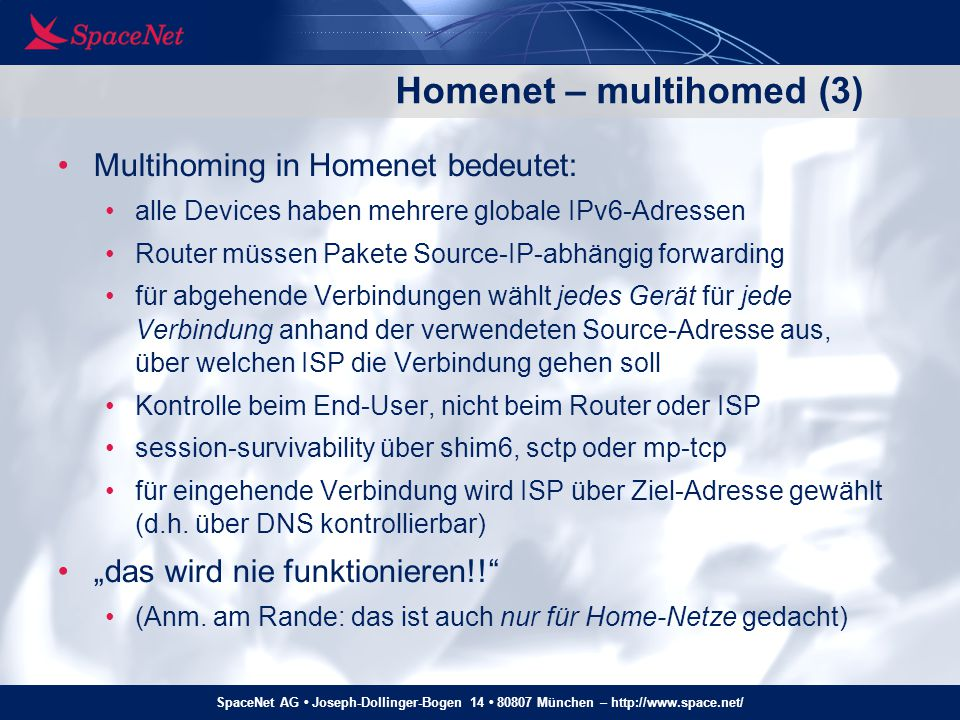 Homenet – multihomed (3)