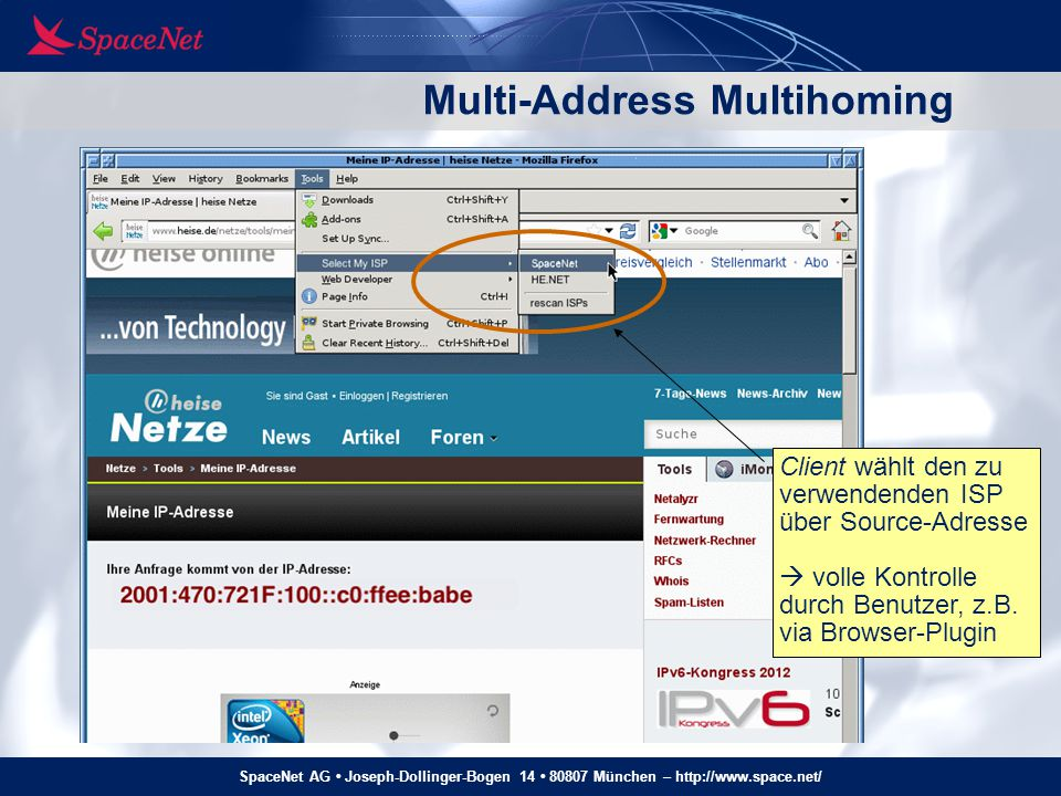 Multi-Address Multihoming