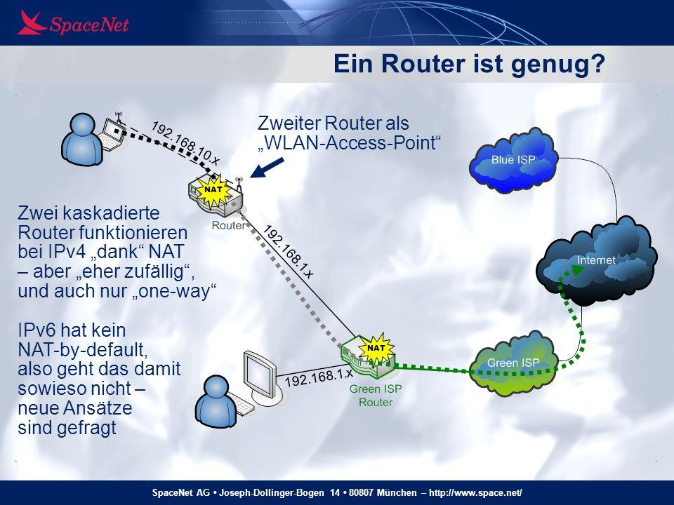 """Ein Router ist genug Zweiter Router als """"WLAN-Access-Point"""