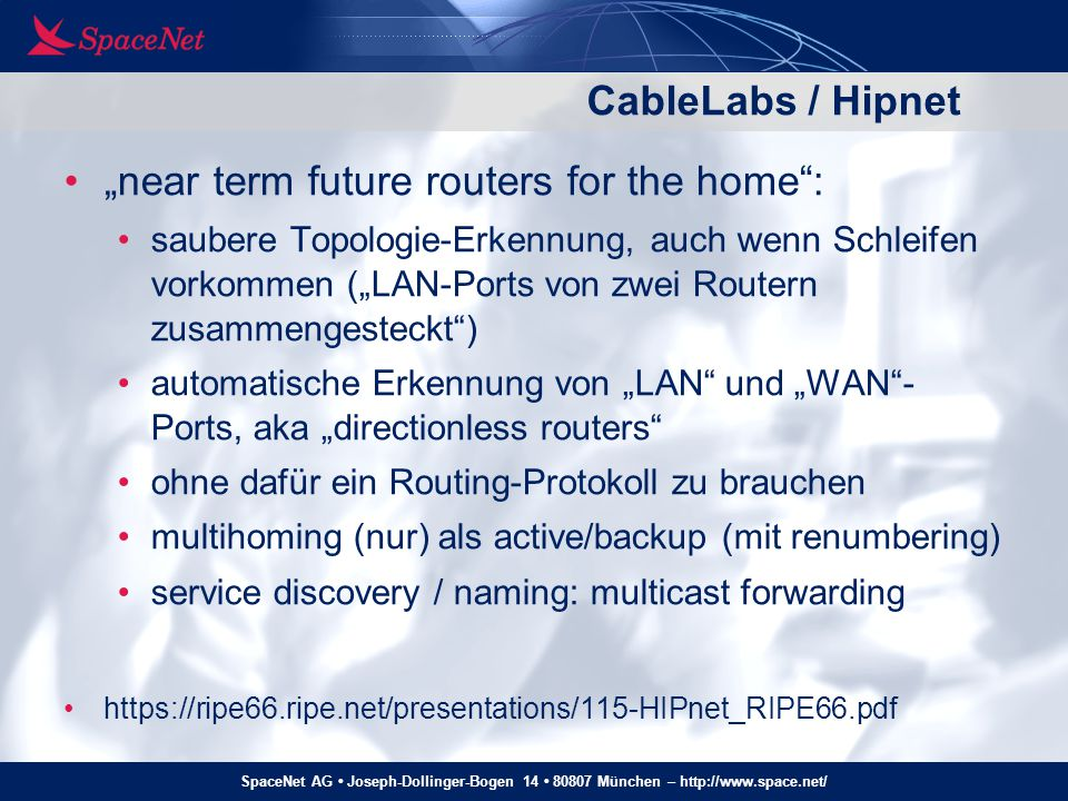 """near term future routers for the home :"