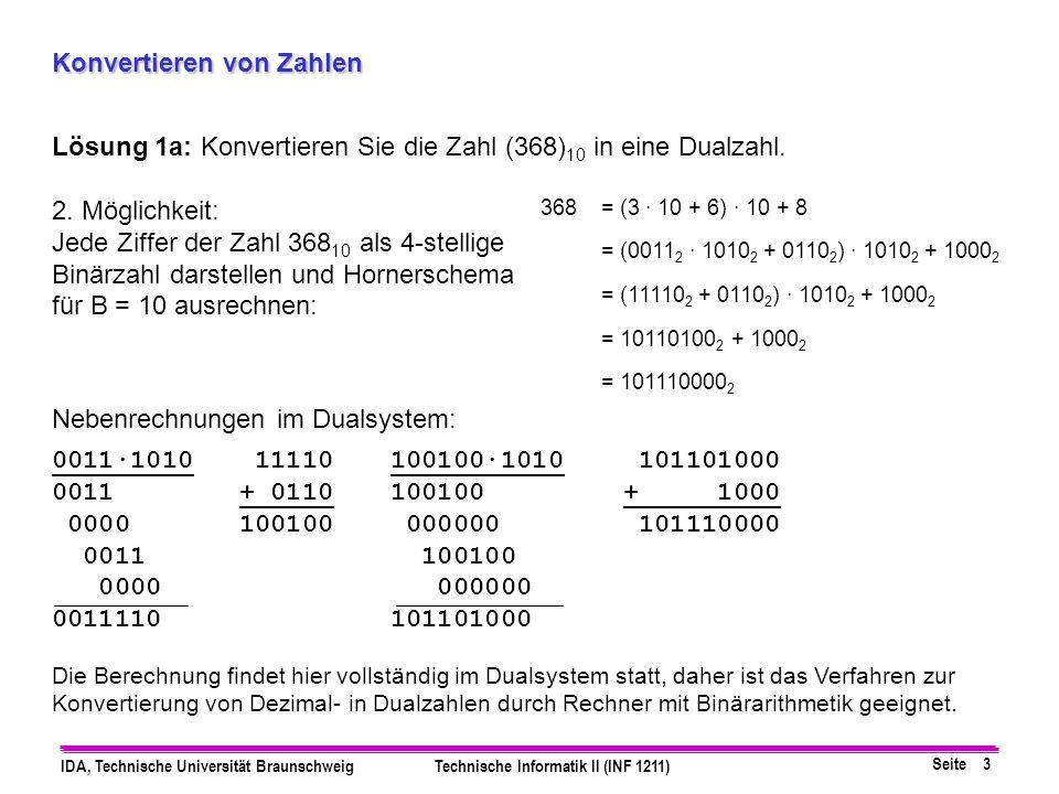 Konvertieren von Zahlen