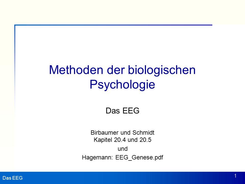 Methoden der biologischen Psychologie