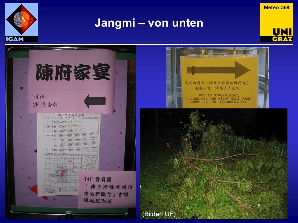 Meteo 368 Jangmi – von unten (Bilder: UF)