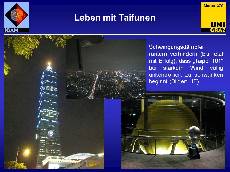 Meteo 370 Leben mit Taifunen.