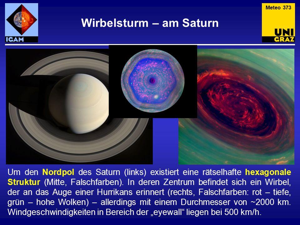 Wirbelsturm – am Saturn